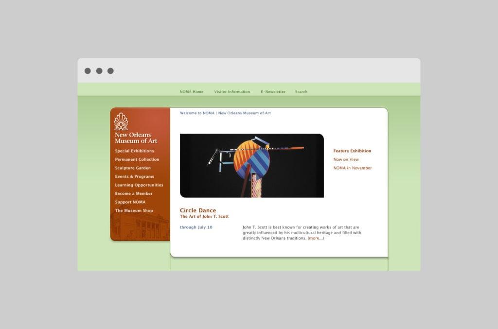 NOMA: website